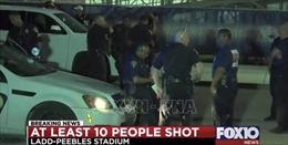 Xả súng tại Texas gây nhiều thương vong