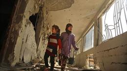 Hàng nghìn trẻ em ở Syria có nguy cơ không được đến trường trong năm học mới