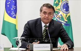 Chuẩn bị phẫu thuật, Tổng thống Brazil không thể dự hội nghị thượng đỉnh về Amazon