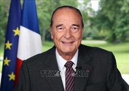 Lãnh đạo Pháp và thế giới ca ngợi cựu Tổng thống Jacques Chirac