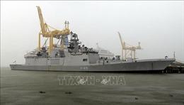 Tàu Hải quân Ấn Độ thăm thành phố Đà Nẵng