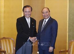 Thủ tướng Nguyễn Xuân Phúc tiếp lãnh đạo một số địa phương, tổ chức Nhật Bản