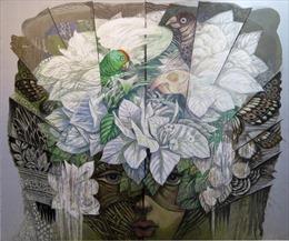 Triển lãm tác phẩm mỹ thuật của các nghệ sỹ tiêu biểu châu Á