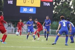 Đội tuyển nữ Việt Nam họp rút kinh nghiệm sau trận 'mất điểm' trước Thái Lan
