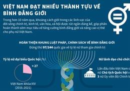 Việt Nam đạt nhiều thành tựu về bình đẳng giới