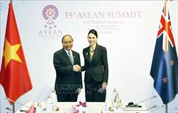 Thủ tướng Nguyễn Xuân Phúc hội kiến Thủ tướng New Zealand