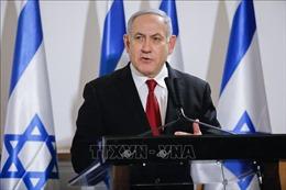Hàng nghìn người tuần hành ủng hộ Thủ tướng Netanyahu