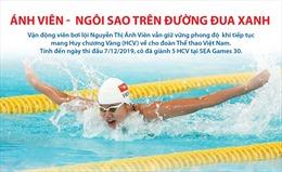 SEA Games 30: Kình ngư Ánh Viên tiếp tục tỏa sáng, giành HCV thứ 6