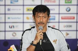 HLV U22 Indonesia chúc mừng Việt Nam