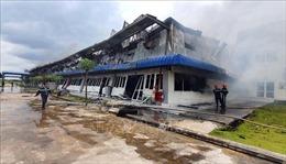 Vụ cháy tại Công ty May Nhà Bè - Sóc Trăng: Công nhân đã trở lại làm việc