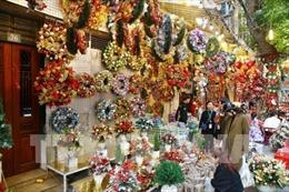 Hà Nội rộn ràng mùa Giáng sinh