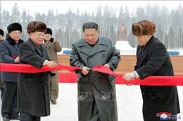 Triều Tiên khánh thành dự án xây dựng thành phố mới
