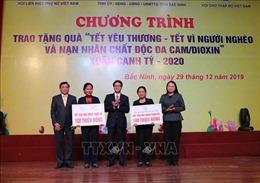 Trao quà Tết cho người nghèo và nạn nhân chất độc da cam tỉnh Bắc Ninh