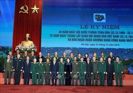 Thủ tướng: Quân đội nhân dân Việt Nam luôn tỏ rõ bản lĩnh của một đội quân cách mạng