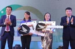 Hai thí sinh giành giải Nhất cuộc thi 'Thanh niên với văn hóa giao thông' năm 2019