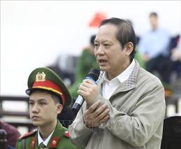 Bị cáo Trương Minh Tuấn thừa nhận 'Ký Quyết định 236 là sai phạm đáng tiếc của tôi'