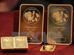 Giá vàng thế giới chạm 'đỉnh' của 4 tháng