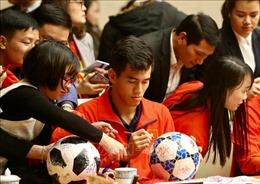 Tiền đạo Nguyễn Tiến Linh mong ước Đội tuyển Việt Nam tham dự World Cup