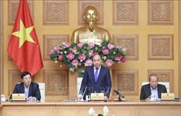 Thủ tướng chủ trì cuộc họp triển khai nhiệm vụ sau Tết và phòng, chống dịch viêm phổi cấp do nCoV