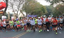 Khởi động Giải Marathon quốc tế TP Hồ Chí Minh Techcombank năm 2020