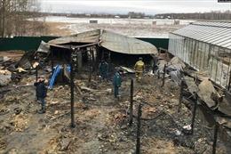 Vụ hỏa hoạn ở trang trại tại Nga: Đã xác định một nữ công dân Việt Nam bị bỏng nặng