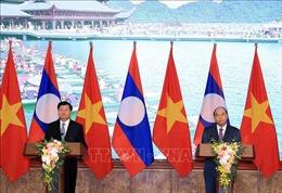 Thủ tướng Việt Nam, Lào họp báo sau Kỳ họp 42 Ủy ban liên Chính phủ hai nước