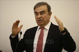 Các nhà điều tra Liban thẩm vấn cựu Chủ tịch Motor Carlos Ghosn