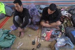 Khởi tố băng nhóm mua bán, tổ chức cho 60 cửu vạn sử dụng ma túy trái phép