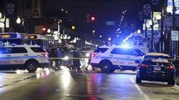 Mỹ: Xả súng tại Chicago, 5 người bị thương