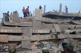 Vụ sập công trình đang thi công: 4 người tử vong, ít nhất 16 người bị thương