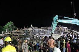 Bảy người bị tử vong trong vụ sập công trình tại Campuchia