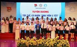 Đà Nẵng vinh danh 212 'Sinh viên 5 tốt'