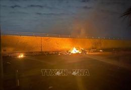 Vụ sân bay ở Baghdad bị không kích: Iran triển khai máy bay chiến đấu tới biên giới