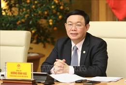 Phê chuẩn ông Vương Đình Huệ làm Trưởng đoàn đại biểu Quốc hội TP Hà Nội