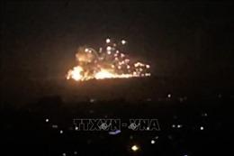 Syria đánh chặn tên lửa của Israel bắn vào thủ đô Damascus