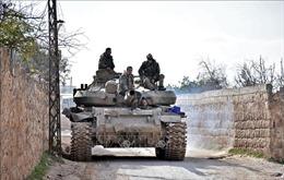 Quân đội Syria giành lại tuyến cao tốc huyết mạch