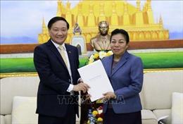 Điện mừng 65 năm Ngày thành lập Đảng Nhân dân Cách mạng Lào
