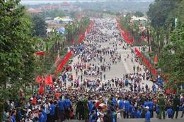 Không tổ chức phần hội trong Giỗ Tổ Hùng Vương-Lễ hội Đền Hùng
