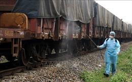 Những chuyến tàu hàng xuyên biên giới Việt - Trung