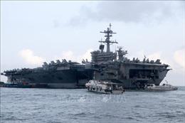 Đà Nẵng đón tàu sân bay USS Ronald Reagan của Hoa Kỳ