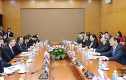 Trưởng ban Kinh tế Trung ương Nguyễn Văn Bình tiếp Đoàn Hội đồng Kinh doanh Hoa Kỳ - ASEAN