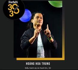 Hành trình từ 'Trung nuôi em' đến 'Gương mặt trẻ tiêu biểu Việt Nam 2019'