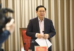 Bí thư Thành uỷ Vương Đình Huệ: Tinh giản biên chế phải đi đôi với nâng cao chất lượng cán bộ