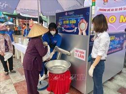 Niềm vui từ cây 'ATM gạo' đầu tiên tại Hải Phòng