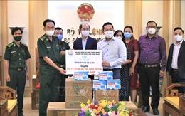 Chung tay hỗ trợ Bộ đội Biên phòng trong công tác phòng, chống dịch COVID-19