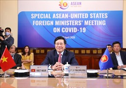 Hội nghị trực tuyến đặc biệt cấp Bộ trưởng Ngoại giao ASEAN - Hoa Kỳ về ứng phó COVID-19