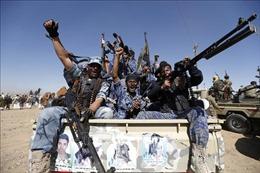 Phiến quân Houthi tuyên bố bắn hạ máy bay không người lái của liên quân Arab