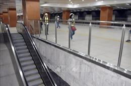 Cơ bản hoàn thiện tầng B1 ga Nhà hát TP Hồ Chí Minh thuộc dự án metro số 1