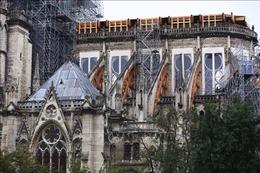 Tổng thống Pháp tái cam kết phục dựng Nhà thờ Đức Bà trong 5 năm