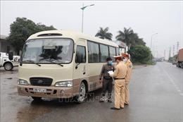 Tăng cường phòng, chống dịch COVID-19 trên các phương tiện giao thông